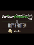 dr. troy's vanilla protein powder