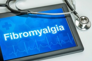 fibromyalgia written on an ipad