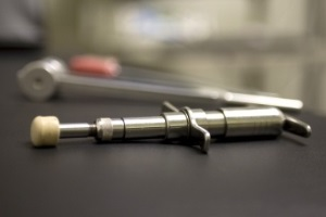 chiropractic activator used for adjusting babies, infants, newborns